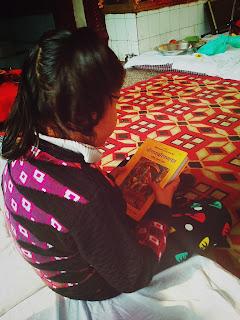 नॉएडा सेक्टर-२२ शिव दुर्गा धाम मंदिर में रामायण पाठ के कार्यक्रम का आयोजन हुआ - १०