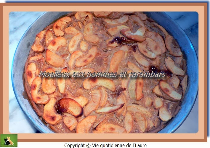 Vie quotidienne de FLaure: Moelleux aux pommes et carambars