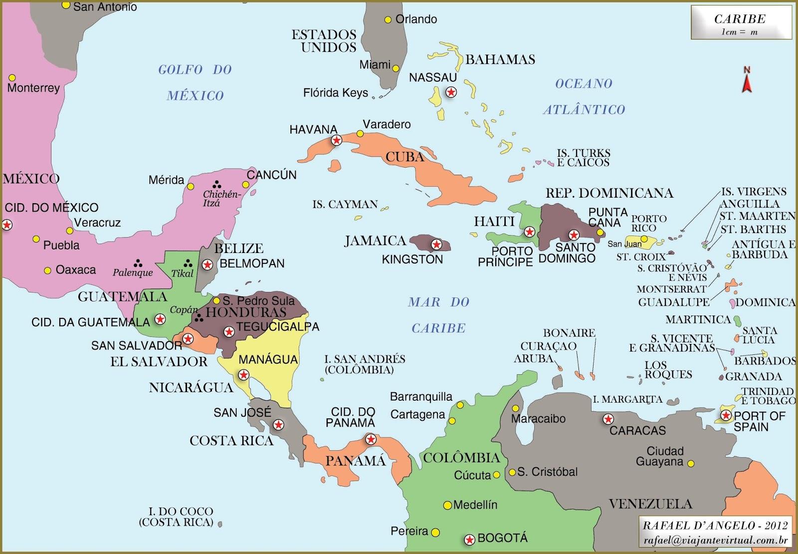 Cartina Politica Dei Caraibi.Le Americhe E Turismo Sostenibile Lessons Tes Teach