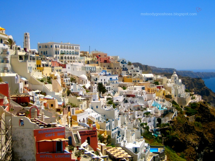 Breathtaking Santorini should be on everyone's bucket list | Ms. Toody Goo Shoes