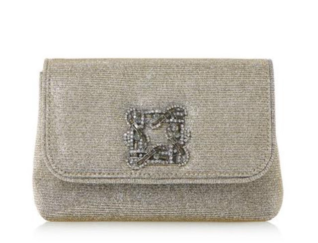 Dune Beston mini brooch evening bag