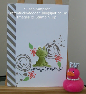 Stampin' Up! Made by Susan Simpson Independent Stampin' Up! Demonstrator, Craftyduckydoodah!, Love You Lots, Swirly Birds,