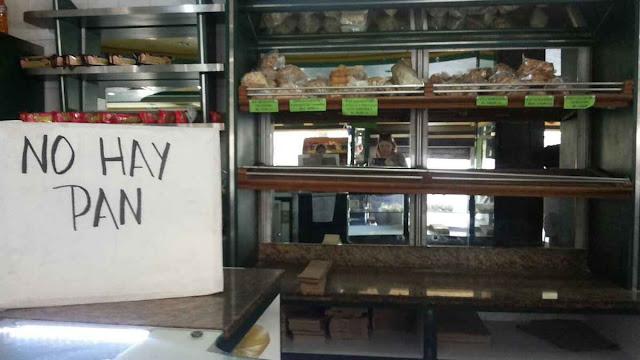 Até o pão falta na outrora opulenta Caracas