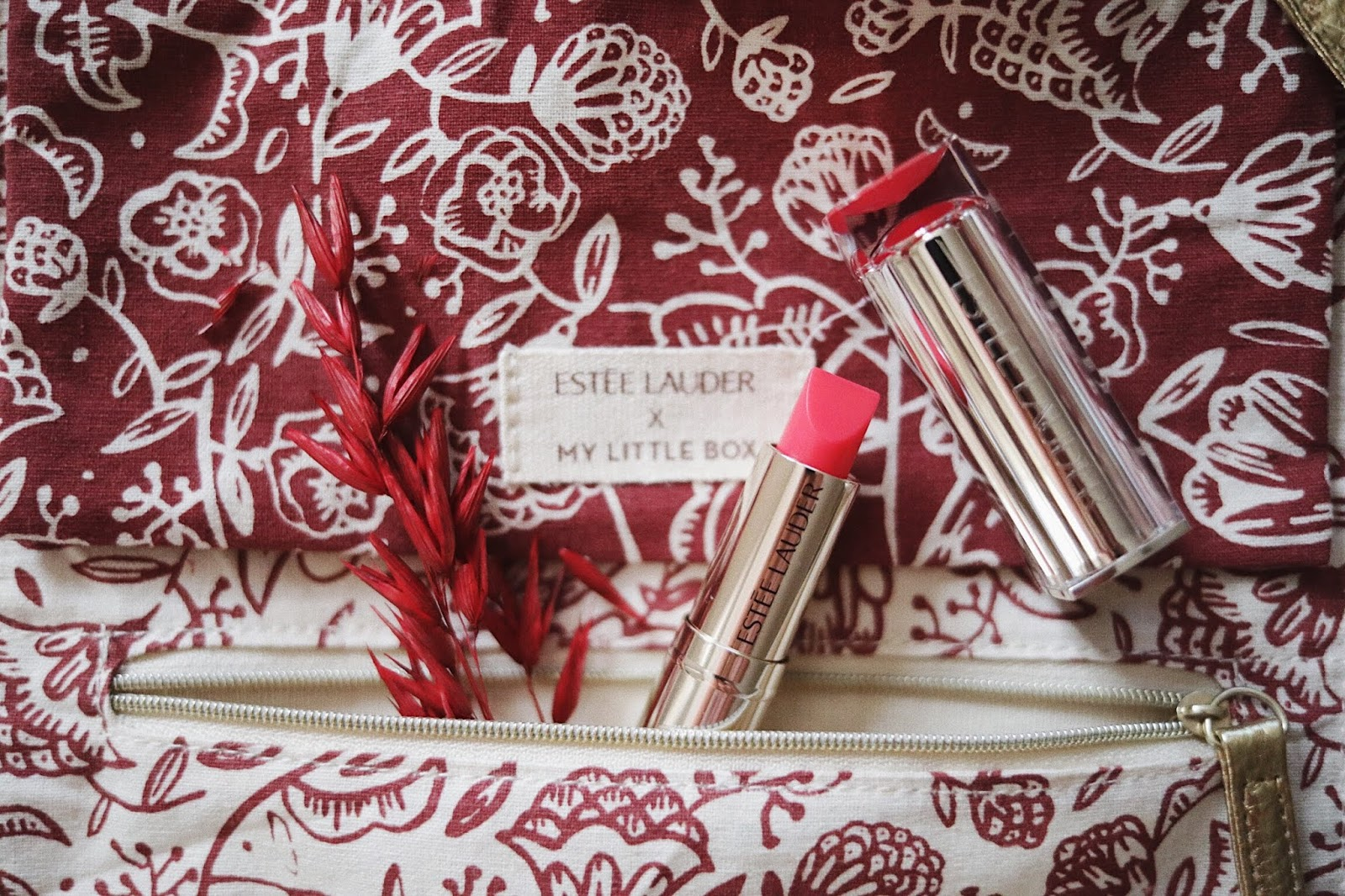 Estée Lauder , My Little Box , ESTÉELAUDERXMYLITTLEBOX , pure colore love , box octobre 2018 , rose mademoiselle, rose mademoiselle , blog beauté , France, Paris
