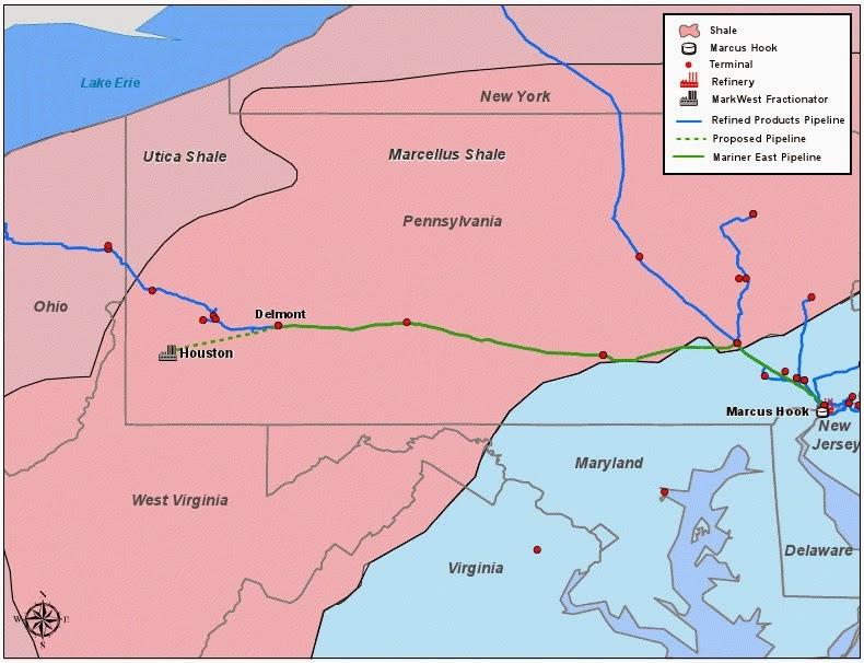 100+ Western Pennsylvania Pipeline Map – yasminroohi