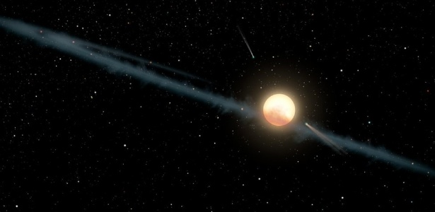 O QUE EXPLICA O COMPORTAMENTO DE KIC 8462852, A ESTRELA SUSPEITA DE ABRIGAR ATIVIDADE ALIENÍGENA ..