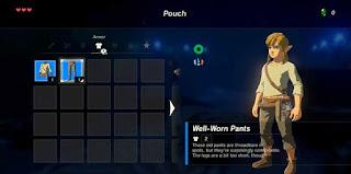 Mecânicas de RPG no Legend of Zelda Breath of the Wild