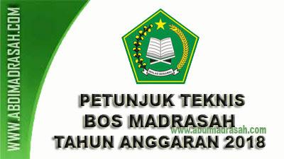 Petunjuk Teknis BOS Pada Madrasah Tahun Anggaran 2018