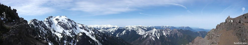 Mount angeles panoramic