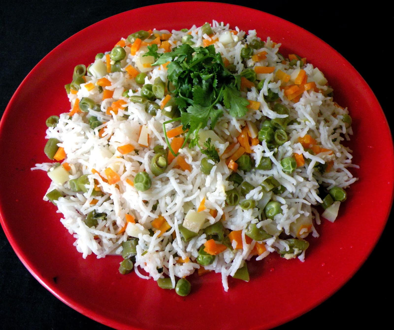 Mixed Vegetable Pulao