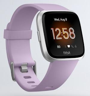 Fitbit Versa Lite Argent/Lilas