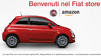 Amazon Fiat store, acquisto di auto online