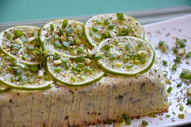 terrine asperges fromage citron vert