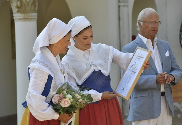 Crown Princess Victoria of Sweden was officially named as Årets Ölänning (the Öland Inhabitant of the Year) with a ceremony held in Solliden