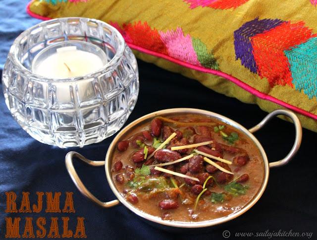 images of Punjabi Style Rajma Masala / Punjabi Rajma Recipe / Rajma Masala Recipe