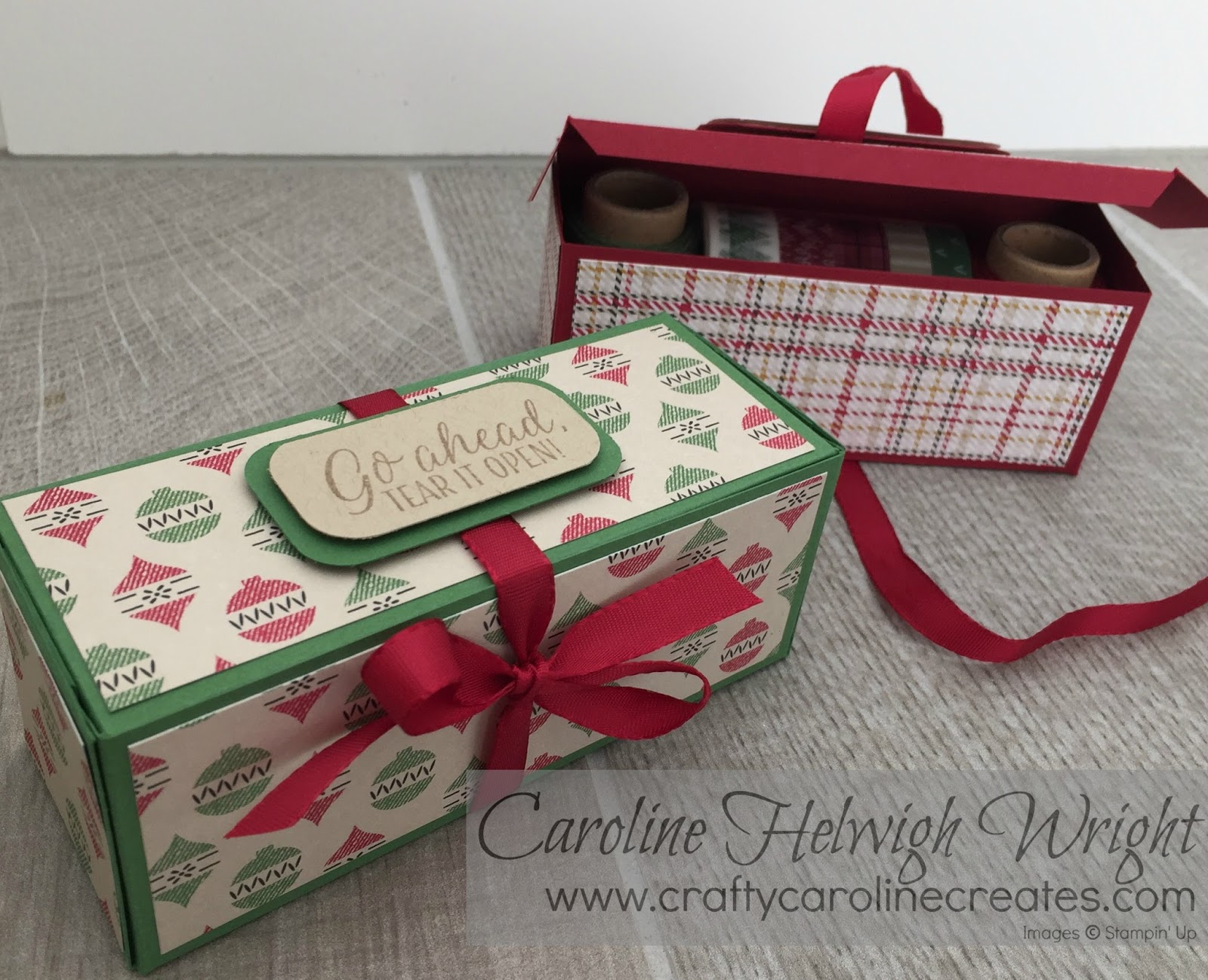 CraftyCarolineCreates: Large Useful Christmas Gift Box ...