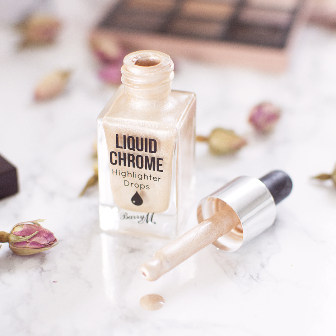 Barry M Liquid Chrome Highlighter Drops Beam Me Up