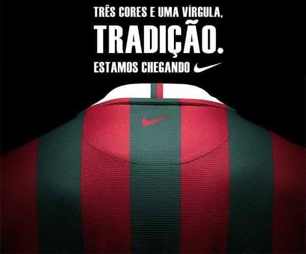 ea42bb826dff5 Especulações na internet preveem acerto da Nike com o Fluminense - Show de  Camisas