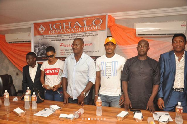 Super Eagles Player, Odion Ighalo Set To Launch His Orphanage Home (See Photos)