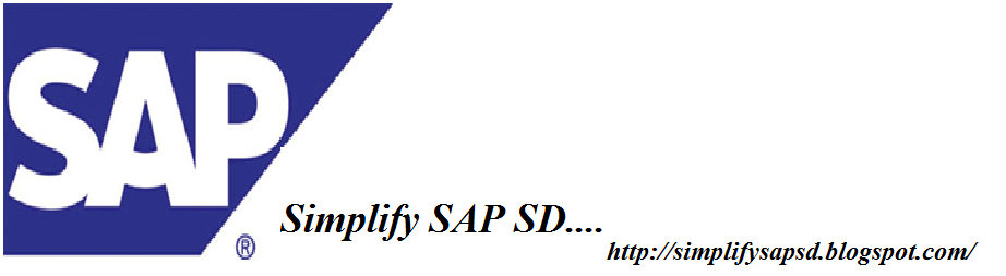 Simplify......SAP_SD