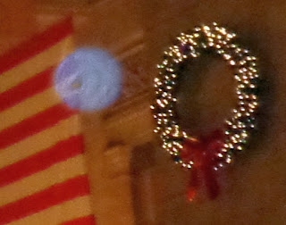 orb near wreath