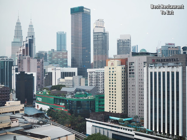 Samplings On The Fourteen Berjaya Times Square Hotel - KL City Skyline View