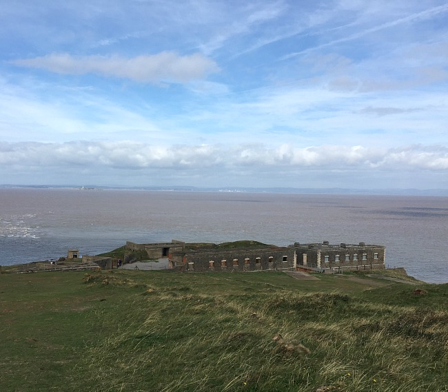 Brean-Down-fort