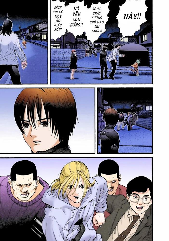Gantz Chap 06: Chạm trán người ngoài hành tinh củ hành trang 17