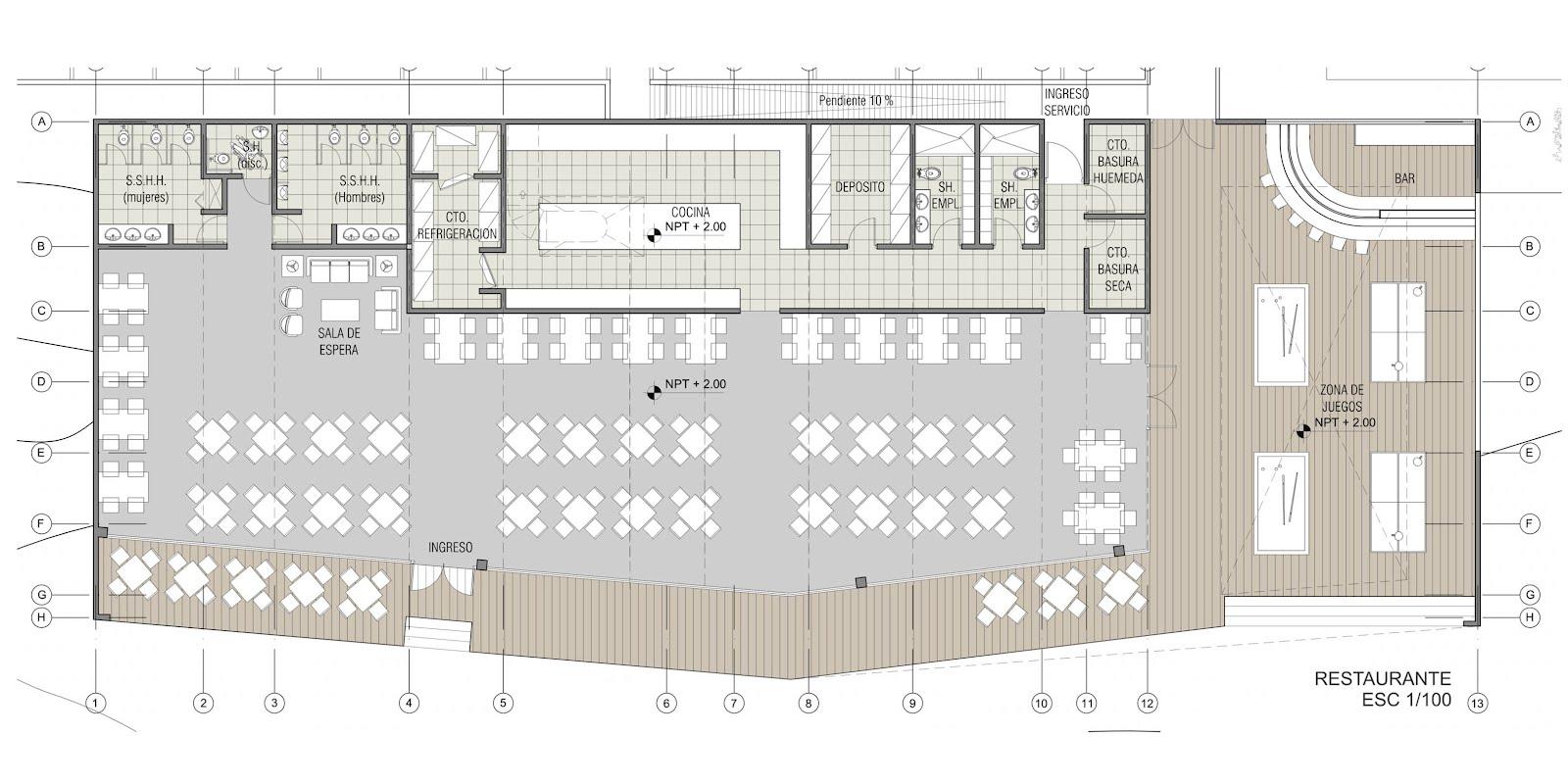 Habitar concurso club union tacna 1 premio for Salon de usos multiples programa arquitectonico