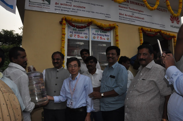 Huawei India R&D Center Sponsors Clean Drinking Facilities in Rural Bengaluru