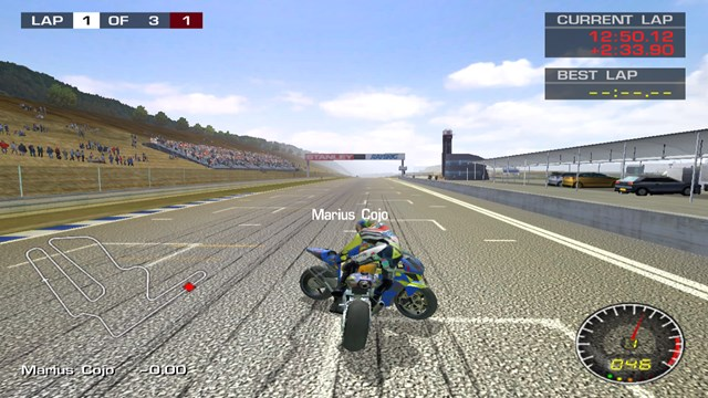 Download MotoGP 2 PC Games Gameplay