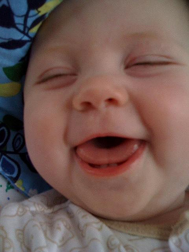 Baby laughing ~ Bundle of Joy