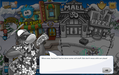 Herbert Un-Colorizes Club Penguin! Underground Maze Cheats!