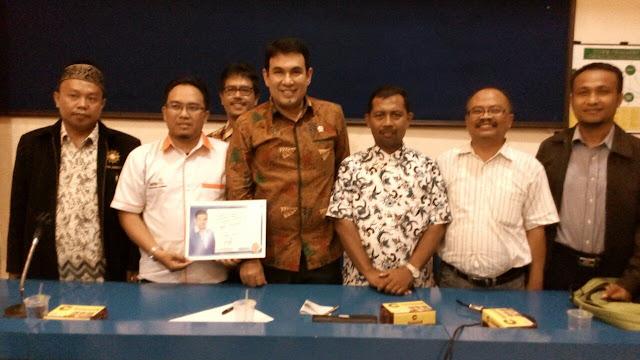 Bersama jajaran PD. Muhammadiyah Jember
