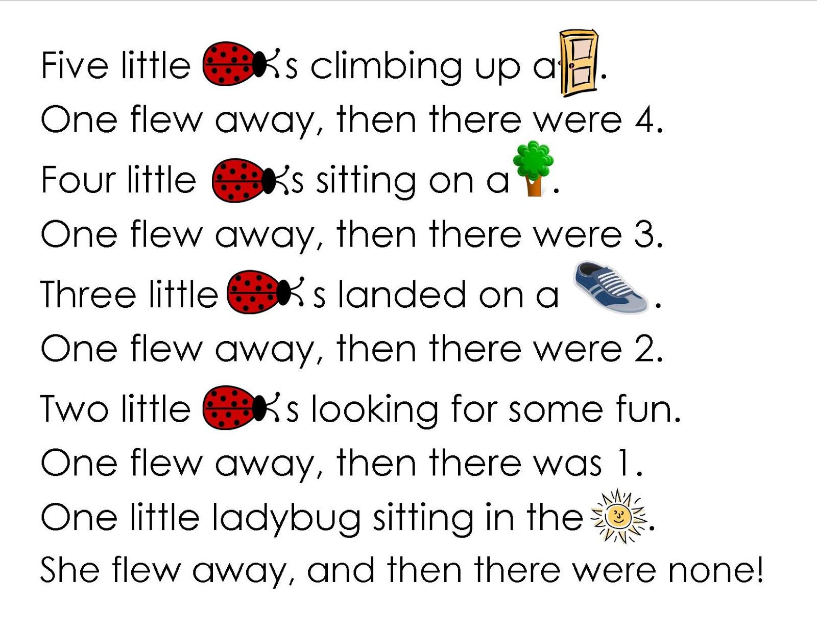 Wonderful Weka And Terrific Toutouwai Our Ladybug Poem