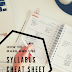 Making a College Syllabus 'Cheat Sheet'