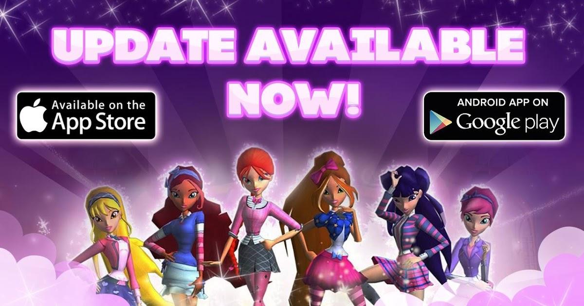 Update 1 2 1 winx club alfea butterflix adventures for Zona 5 mobilia no club download