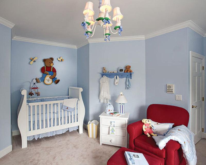 Baby Boy Nursery Decor