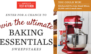 America S Test Kitchen Baking Essentials Giveaway 4 Winners Win A