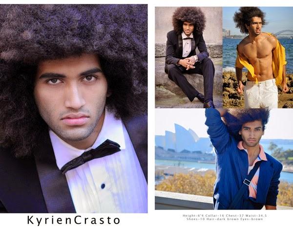 Model comp for male modelling portfolio - Model portfolio photography by Kent Johnson