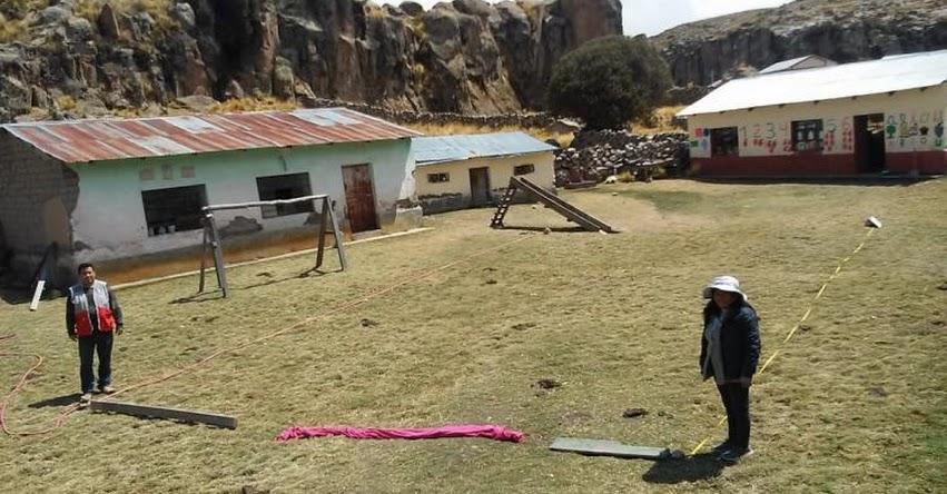 PRONIED: Especialistas verifican emplazamientos para módulos educativos en seis colegios de Espinar y Canas - www.pronied.gob.pe