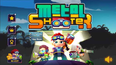 Download game mod apk offline Metal Shooter: Run and Gun APK
