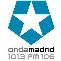 Logo de Onda Madrid, 101.3 FM 106
