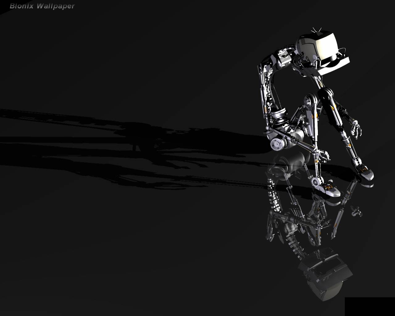 Cool 3D Robot Wallpapers Widescreen wallpaper background ...
