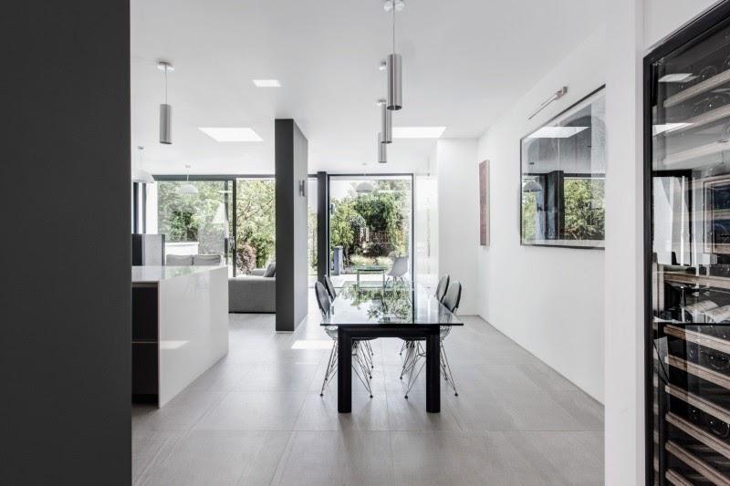 casa decorada Arquitetura Moderna Com Interior Elegante