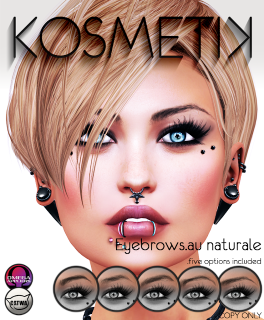 .kosmetik Eyebrows.au naturale