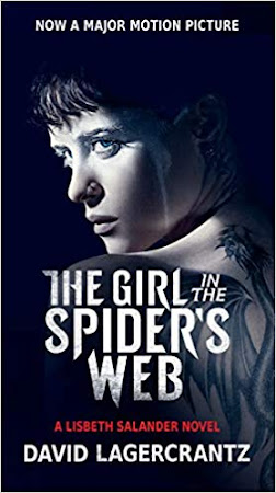 Poster Of The Girl in the Spider's Web In Dual Audio Hindi English 300MB Compressed Small Size Pc Movie Free Download Only At worldfree4u.com