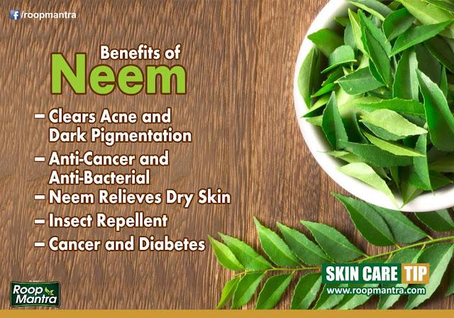 Benefits of Neem at Skin - स्वस्थ रहने के तरीके