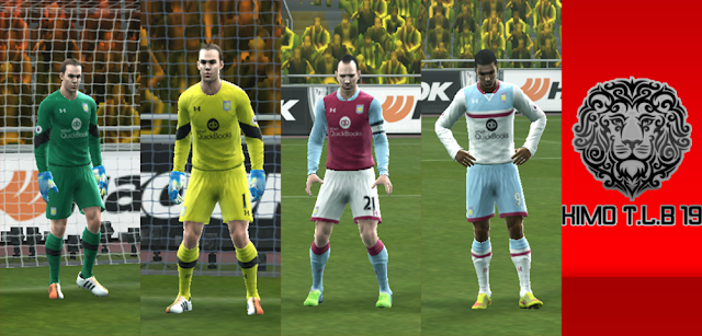 PES 2013 Aston Villa Kit Season 2016/2017