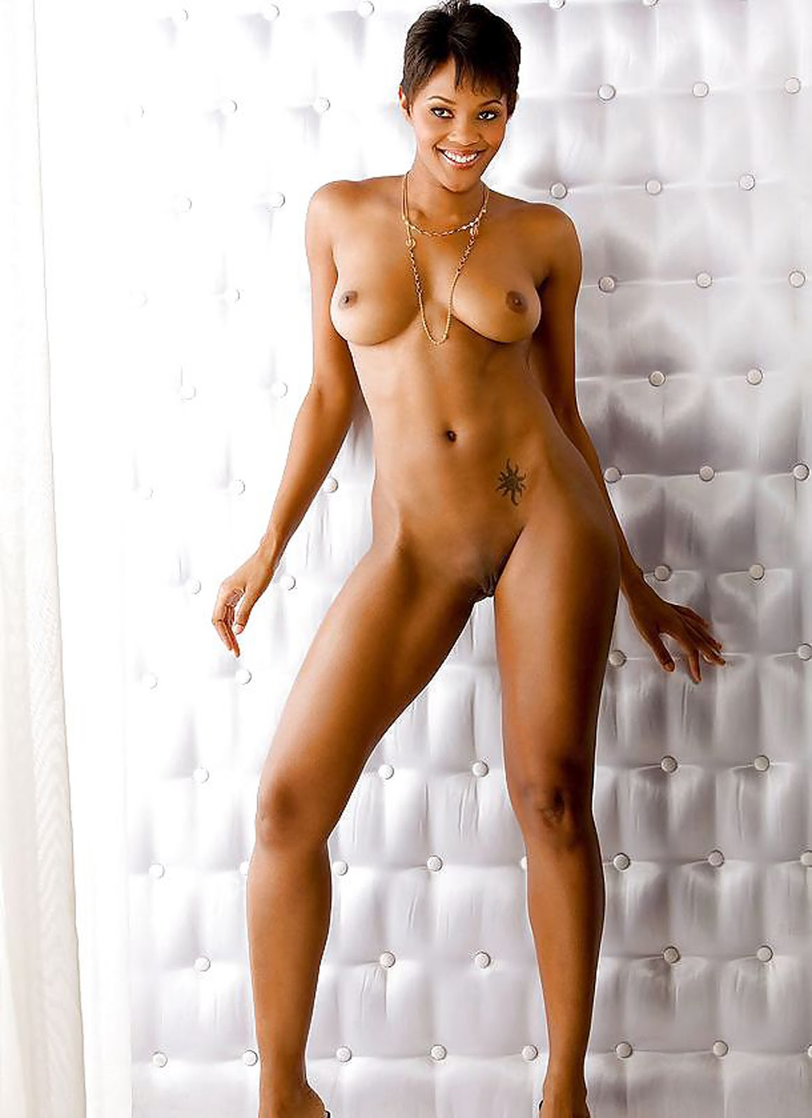Black woman nude